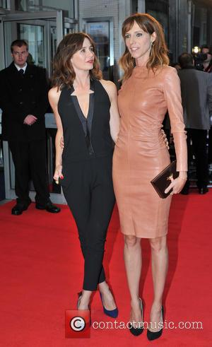 Emily Mortimer and Dolly Wells - BFI London Film Festival: Doll & Em premiere held at he Odeon West End...