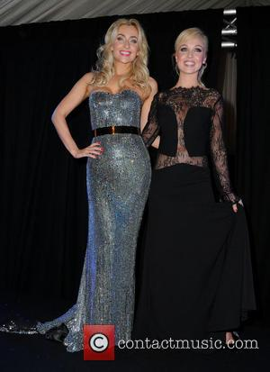 Gemma Merna and Jorgie Porter - Gemma Merna and Jorgie Porter model dresses at a Fashion Show in Manchester Pavillion...