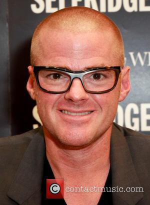 Heston Blumenthal - Celebrity Chef Heston Blumenthal signs copies of his new book