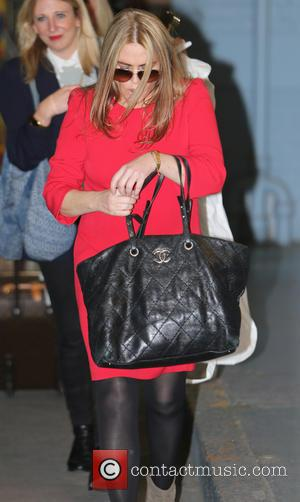 Patsy Kensit - Patsy Kensit outside ITV studios - London, United Kingdom - Thursday 10th October 2013