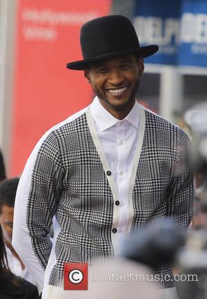 Usher, Hollywood Walk of Fame