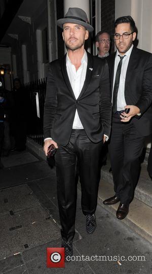 Matt Goss - Matt Goss pictured leaving The Arts Club at 3:30am - London, United Kingdom - Thursday 10th October...