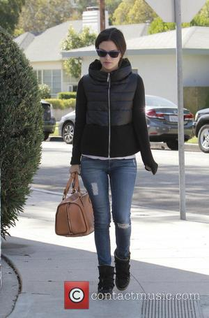 Rachel Bilson - Rachel Bilson braves the chilly Los Angeles weather in a fashionable quilted jacket and boots - Los...