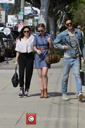 Rose McGowan - Rose McGowan and sister out Wedding shopping - West Hollywood, CA, United States - Thursday 10th October...