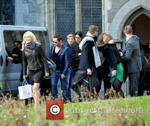 Victoria Smurfit and Jonathan Rhys Meyers & Dracula Cast