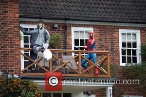 A home-owner in the leafy London suburb of Hampstead Heath has ventured into the world of superheroes by creating a...