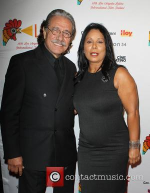 Edward James Olmos and Wanda De Jesus