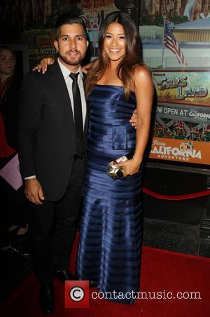 Walter Perez and Gina Rodriguez