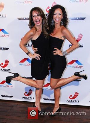 Patricia Kara and Sofia Milos