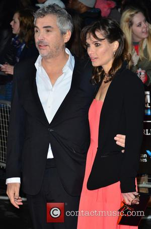 Director Alfonso Cuaron - BFI London Film Festival: 'Gravity' Gala Screening held at the Odeon Leicester Square - Arrivals -...
