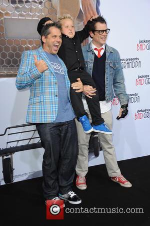 Jeff Tremaine, Jackson Nicoll and Johnny Knoxville