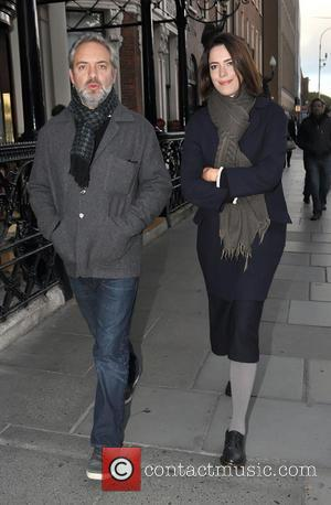 Sam Mendes and Rebecca Hall - Film director Sam Mendes out and about with his girlfriend and actress, Rebecca Hall...
