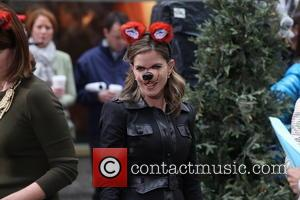 Natalie Morales - NBC Toyota Concert Series Presents Ylvis What does The Fox Say - NYC, NY, United States -...
