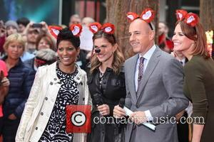 Tamron Hall, Natalie Morales, Matt Lauer and Savannah Guthrie - NBC Toyota Concert Series Presents Ylvis What does The Fox...