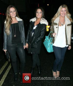 Fran Newman-Young, Alexandra 'Binky' Felstead and Francesca Hull - The cast of 'Made In Chelsea' leave the Soho Hotel after...