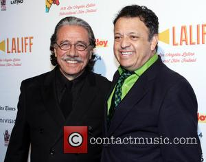 Edward James Olmos, Paul Rodriguez