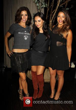 Ana Ortiz, Francia Raisa and Gina Rodriguez
