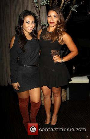 Francia Raisa and Gina Rodriguez - Sleeping with the fishes part of Latino international Film fest_After party Held at Beso...