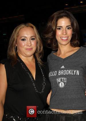 Ana Ortiz and Nicole Gomez Fisher