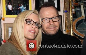 Jenny McCarthy and Donnie Wahlberg - Opening night after party for A Night With Janis Joplin, held Bucca di Beppo...