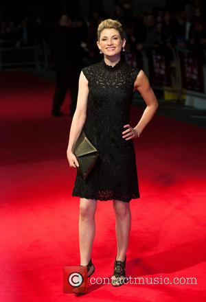 Jodie Whittaker - BFI London Film Festival: 'Hello Carter' premiere held at the Odeon West End - Arrivals - London,...