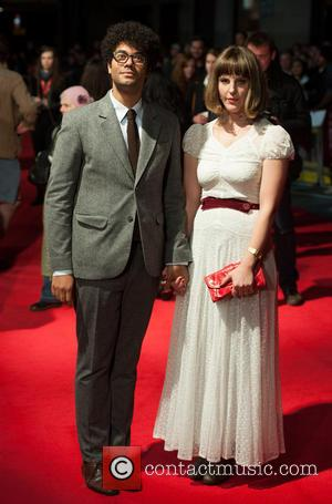 Richard Ayoade and Guest