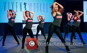 Janet Jones - Sweat USA: All-Star Fitness Festival at the Mondrian Hotel - Miami Beach, Florida, United States - Saturday...