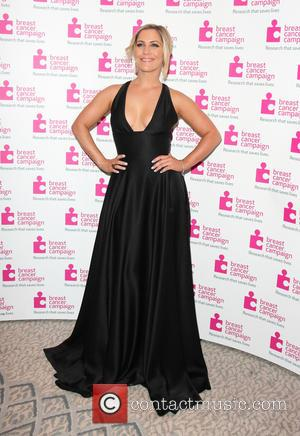 Heidi Range - Pink Ribbon Ball in aid of Breast Cancer Campaign at the Dorchester Hotel Park Lane London -...