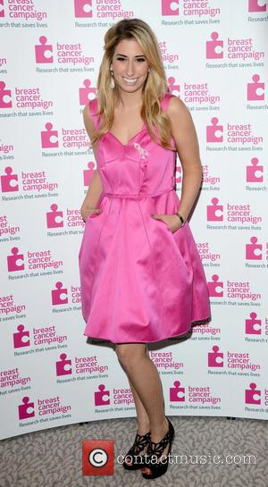 Stacey Solomon - Pink Ribbon Ball in aid of Breast Cancer Campaign at the Dorchester Hotel Park Lane London -...
