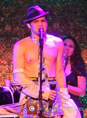 Jeremy Jordan - The Skivvies In Concert with special guests at 54 Below nightclub. - New York, NY, United States...