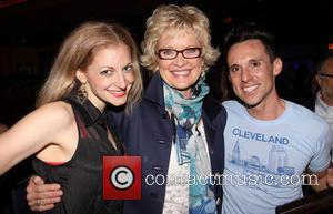 Lauren Molina, Christine Ebersole and Nick Cearley