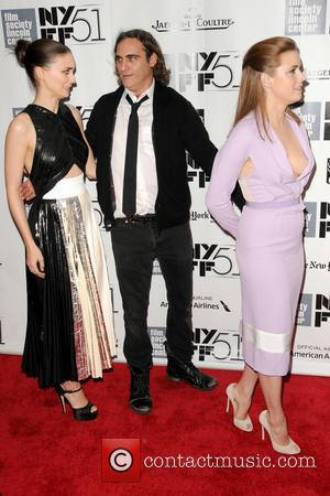 Rooney Mara, Joaquin Phoenix and Amy Adams