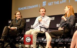 Joaquin Phoenix, Spike Jones and Amy Adams - The 51st New York Film Festival - 'Her' - Press Conference -...