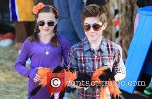 Mason Cook - Mason Cook seen at Mr. Bones Pumpkin Patch in West Hollywood. - Los Angeles, CA, United States...