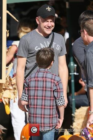 Rob Coddry and Mason Cook - Rob Corddry seen at Mr. Bones Pumpkin Patch in West Hollywood. - Los Angeles,...
