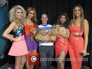 Mollie King, Una Healy, Vanessa White, Rochelle Humes and Jeremy Joseph
