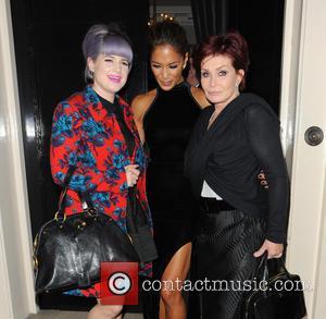 Nicole Scherzinger, Kelly Osbourne and Sharon Osbourne