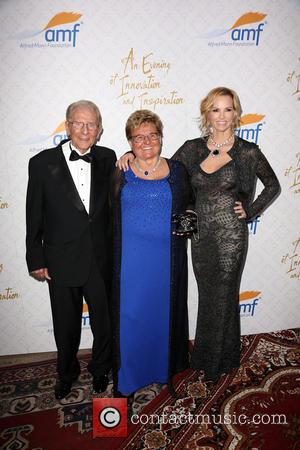 Alfred E. Mann, Claude Mann and Janet Gretzky