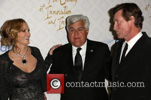 Janet Gretzky, Jay Leno and Wayne Gretzky