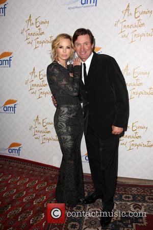 Janet Gretzky and Wayne Gretzky