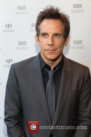 Ben Stiller - Ben Stiller and his wife Christine Taylor at the Mill Valley Film Festival where Ben received the...