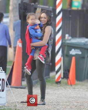 Tia Mowry and Cree Taylor Hardrict