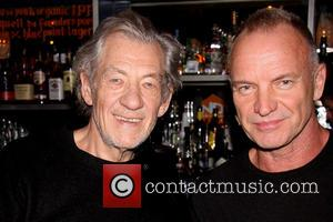 Ian Mckellen, Sting and Gordon Sumner