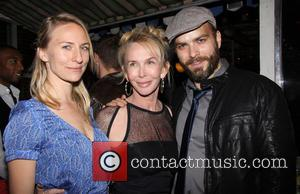 Mickey Sumner, Trudie Styler and Slate Holmgren - Opening night after party for the Culture Project production of The Seagull,...
