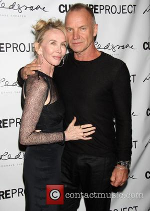 Trudie Styler, Sting and Gordon Sumner