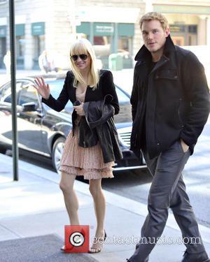 Anna Faris and Chris Pratt