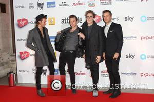 McFly, Dougie Poynter, Tom Fletcher, Danny Jones and Harry Judd - Attitude Magazine Awards 2013 held at the Royal Courts...