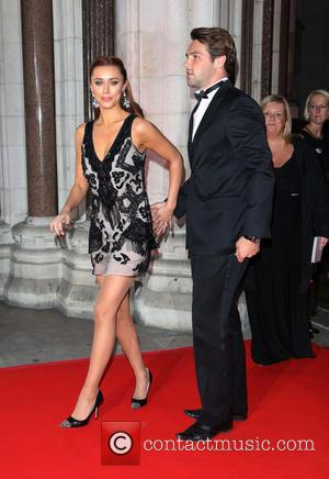 Una Healy and Ben Foden - Attitude Magazine Awards 2013 held at the Royal Courts of Justice - Arrivals -...