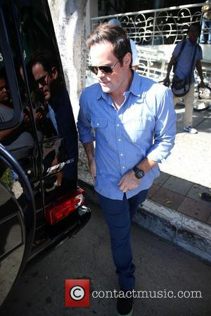 Mike Comrie - Hilary Duff and her family leaving Madeo Restaurant after eating lunch - Los Angeles, CA, United States...