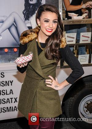 Cher Lloyd - Cher Lloyd CoolHause Ice Cream Truck Give Away at Covenant House - New York, NY, United States...